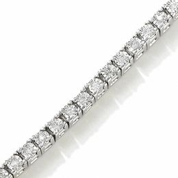 0.75 CT. T.W. Diamond Tennis Bracelet in Sterling Silver