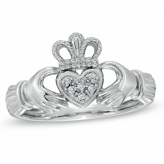 ladies gents content wedding claddagh ring bands silver rings sterling