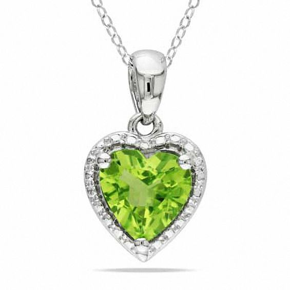 large peridot necklace zodiac leo