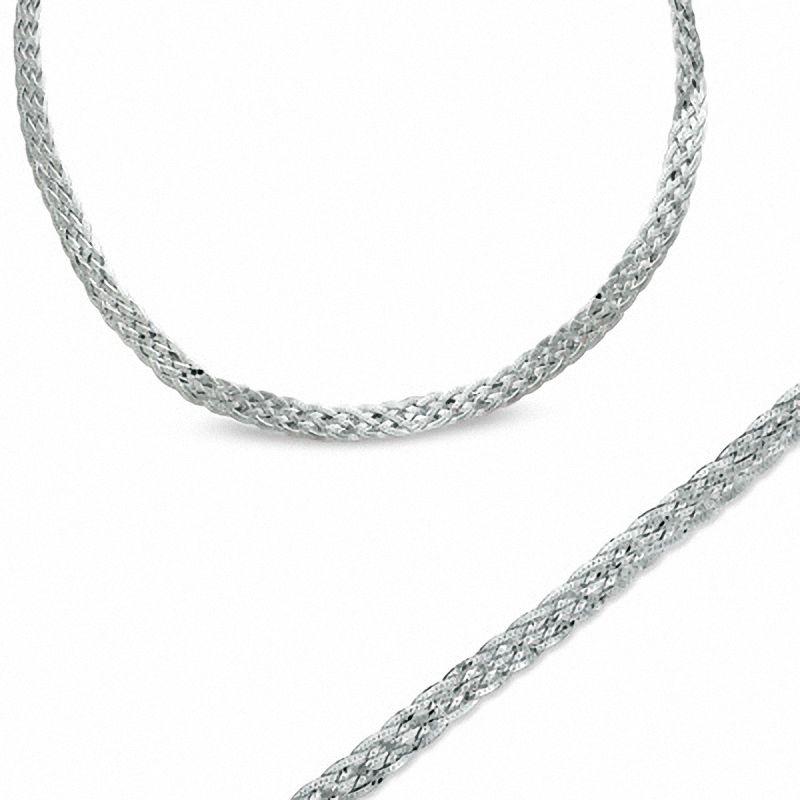 Herringbone Necklace And Bracelet Set